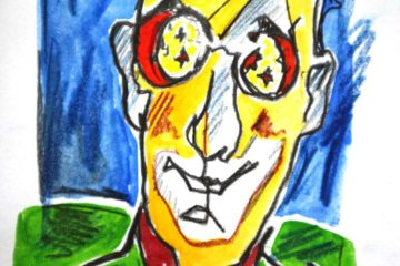 «Der imaginäre Gast» von Ron Dideldum