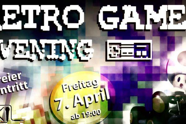 Retro Game Evening