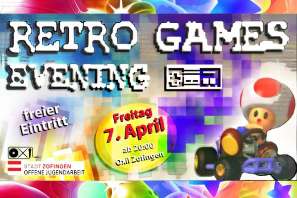 Retro Games Evening – ‹Button Mashing› pur