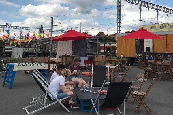 Sommerbar – Freiluft-Jamsession